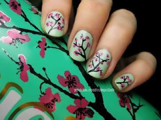 Φωτογραφία για Ανοιξιάτικα Σχέδια για Νύχια: Floral !