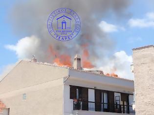 Φωτογραφία για Καστοριά - Φωτιά σε δυόροφη οικοδομή στο κέντρο της πόλης