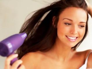 Φωτογραφία για Το μυστικό για το στέγνωμα των μαλλιών σας