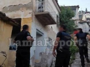 Φωτογραφία για Λαμία: Φωτιά σε στέκι τοξικομανών στο κέντρο της πόλης [photos]