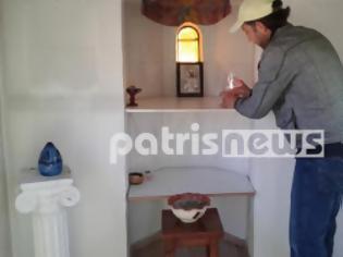 Φωτογραφία για Οι πρόσφυγες έδωσαν ζωή σε εγκαταλελειμμένο εκκλησάκι στη Μυρσίνη
