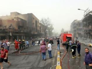 Φωτογραφία για Απέραντο 'λουτρό αίματος' η Βαγδάτη:125 νεκροί  και 150 τραυματίες από την επίθεση του ISIS