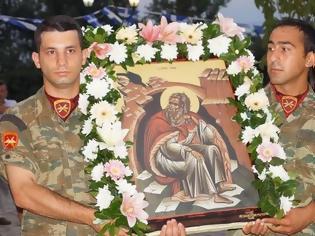 Φωτογραφία για Η 1η Ταξιαρχία Αεροπορίας Στρατού τιμά τον προστάτη της