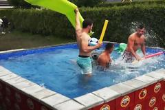 Μία πισίνα μόνο για όσους αγαπούν...τη μπύρα! [vid]