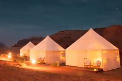 Σε σκηνές στην έρημο θα μένουν οι φίλαθλοι στο Κατάρ