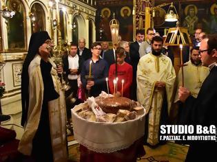 Φωτογραφία για Με κάθε λαμπρότητα έγινε η υποδοχή της ιερής εικόνας της Αγίας Ματρώνας στην Πυργέλλα Άργους [video]
