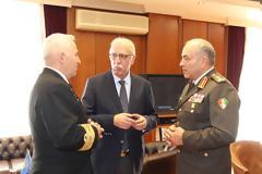 Επίσημη Επίσκεψη Αρχηγού Γενικού Επιτελείου ΕΔ της Αιγύπτου στην Ελλάδα