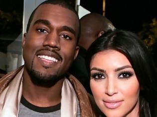 Φωτογραφία για Κάτι τρέχει με την Kardashian και τον  West