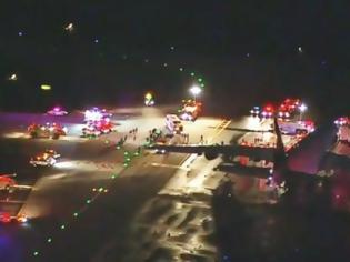 Φωτογραφία για Αναγκαστική προσγείωση αεροσκάφους στη Νέα Υόρκη έπειτα από τηλεφώνημα για βόμβα
