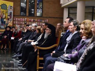 Φωτογραφία για Στιγμές από τη Χριστουγεννιάτικη συναυλία βυζαντινής μουσικής στη Νέα Υόρκη