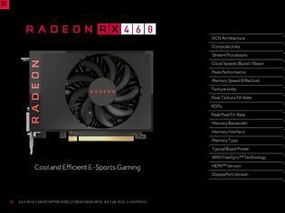 Φωτογραφία για BIOS ξεκλειδώνει δυνάμεις της AMD RX 460!