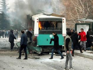 Φωτογραφία για Δεκάδες νεκροί και τραυματίες στην έκρηξη σε λεωφορείο στην Τουρκία