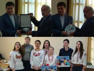 Φωτογραφία για Επίσκεψη της Ελληνικής Κοινότητας της Ουκρανίας στο Δήμο Πεντέλης