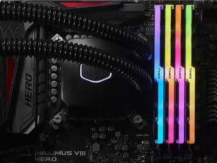 Φωτογραφία για G.SKILL Trident Z DDR4 RAM με RGB LED!