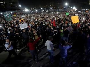 Φωτογραφία για Νεκροί 3 άνθρωποι στο Μεξικό στις διαδηλώσεις για τα ακριβά καύσιμα