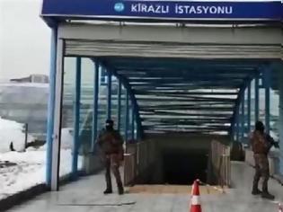 Φωτογραφία για Εκκενώθηκε σταθμός του μετρό στην Κωνσταντινούπολη - Έρευνες για τον μακελάρη του Reina