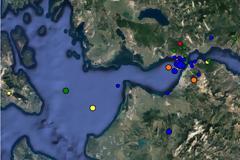 Πάτρα: 55 σεισμοί μετά τη δόνηση των 4.9 από τη Δευτέρα μέχρι σήμερα