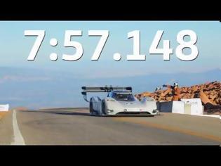 Φωτογραφία για VW I.D. R Pikes Peak κατέρριψε ΟΛΑ τα ρεκόρ ανάβασης συνολικά!