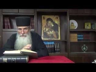 Φωτογραφία για π. Αρσένιος Βλιαγκόφτης, Ο Τίμιος Σταυρός του Χριστού
