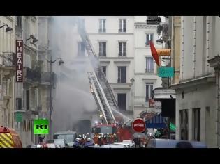Φωτογραφία για Παρίσι: Αρκετοί τραυματίες σε έκρηξη σε αρτοποιείο
