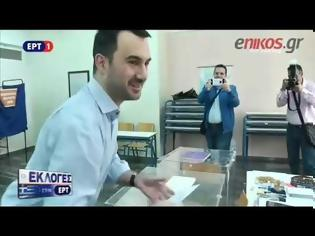 Φωτογραφία για Στην Καλαμάτα ψήφισε ο Αλ. Χαρίτσης