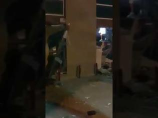 Φωτογραφία για Χαλκιδική: Ανατίναξαν ΑΤΜ αλλά ..έφυγαν με άδεια χέρια (video)
