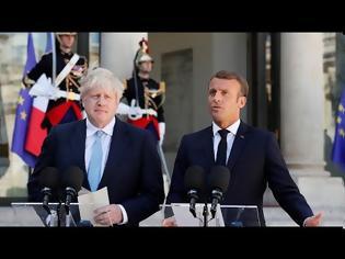 Φωτογραφία για Μακρόν προς Τζόνσον: Η τύχη της Βρετανίας αποκλειστικά δική σας επιλογή