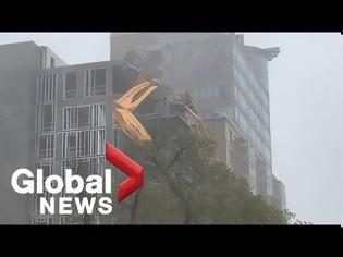 Φωτογραφία για Συναγερμός στον Καναδά για τον τυφώνα Ντόριαν (video)