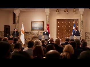 Φωτογραφία για Κ. Μητσοτάκης: Ελλάδα, Κύπρος και Αίγυπτος συγκροτούν ένα τρίγωνο ειρήνης