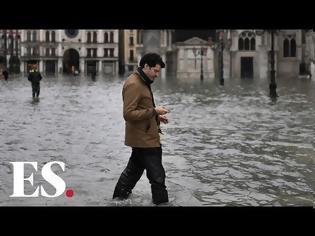 Φωτογραφία για Βενετία πνίγηκε:Πλημμύρισε το 85% της πόλης - βίντεο