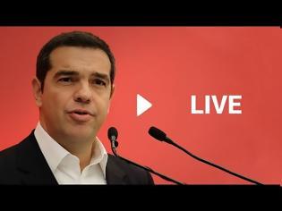 Φωτογραφία για Αλ. Τσίπρας στην Κ.Ο. του ΣΥΡΙΖΑ: «Υπάρχει Κυβέρνηση και Πρωθυπουργός για να αποφασίσει;»