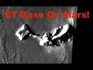 Φωτογραφία για Αρχαία εξωγήινη βάση με πυραμίδα και σήραγγα στην περιοχή του όρους Όλυμπος στον Άρη, ισχυρίζεται ότι εντόπισε ερευνητής (video)