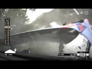 Φωτογραφία για Τρομακτικό ατύχημα για τον Tanak στο Μόντε (videos)