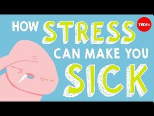 Φωτογραφία για Οι επιπτώσεις του στρες στο σώμα μέσα από ένα video animation