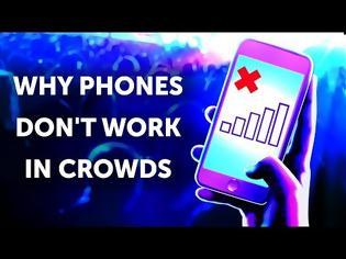 Φωτογραφία για Δείτε γιατί το κινητό σας μένει «νεκρό» στην πολυκοσμία (Βίντεο)