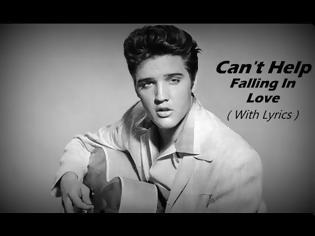 Φωτογραφία για Can't Help Falling In Love Elvis Presley - Lyrics