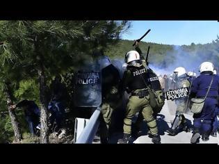 Φωτογραφία για Πολεμικό κλίμα σε Λέσβο και Χίο
