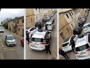 Φωτογραφία για Η απίστευτη κίνηση Ισπανών αστυνομικών σε πόλη που είναι σε καραντίνα