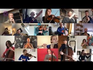 Φωτογραφία για VIDEO: Rotterdam Philharmonic Orchestra από το σπίτι!