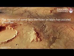 Φωτογραφία για Λύθηκε το μυστήριο «ροών λάβας» στον Άρη