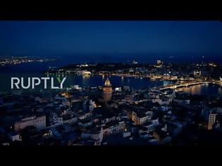 Φωτογραφία για ΒΙΝΤΕΟ. Προκλητική φιέστα Ερντογάν για την Άλωση της Πόλης