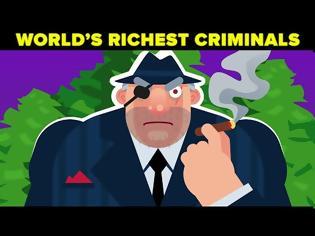 Φωτογραφία για Πώς έβγαζαν τα δισεκατομμύριά τους οι πλουσιότεροι εγκληματίες όλων των εποχών Video