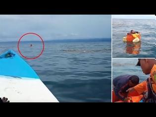 Φωτογραφία για «Πότε πότε λιποθυμούσα»: Ψαράς σώθηκε μετά από τρεις μέρες στη θάλασσα μέσα σε ψυγείο! (vid)