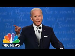 Φωτογραφία για ΗΠΑ: Έντονη αντιπαράθεση με βαρείς χαρακτηρισμούς το πρώτο debate Τραμπ-Μπάιντεν ΒΙΝΤΕΟ
