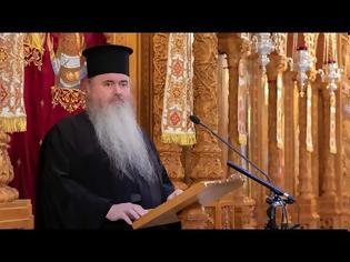 """Φωτογραφία για ΔΗΜΗΤΡΙΑ 2020: Ομιλία του Σεβασμιωτάτου Μητροπολίτη Νέας Κρήνης και Καλαμαριάς κ. Ιουστίνου με θέμα: """"Με τον Χριστό ή με τον Αντίχριστο;"""""""