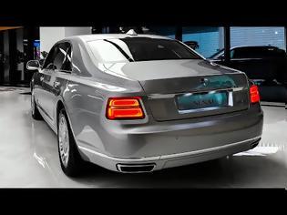 Φωτογραφία για AURUS Senat - Russian Luxury Sedan!