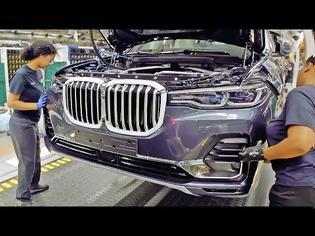 Φωτογραφία για BMW X7 – Production Line – German Car Factory in USA