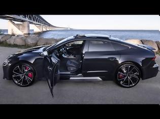Φωτογραφία για AUDI RS7 - MOST BEAUTIFUL CAR EVER? BLACKED OUT V8TT 600HP BEAST