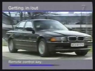 Φωτογραφία για BMW 7 Series Operational Video 1997 Edit
