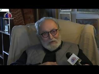 Φωτογραφία για Ο γιατρός του Αγίου Πορφυρίου κ. Γιώργος Πιπεράκης, μιλάει για την γνωριμία του με τον Άγιο